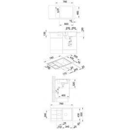 BLANCO Metra 6 S Compact dřez Silgranit tartufo 517353