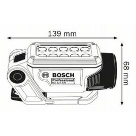 BOSCH GLI DeciLED akumulátorová svítilna 0.601.4A0.000