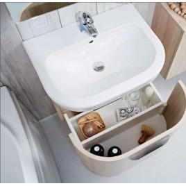 Jika BABY umývátko 45 x 37cm, otvor uprostřed, bílá H8156140001041