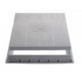 Poklop plast 550 x 550 šedý