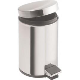 VÝPRODEJ SAPHO SIMPLE LINE odpadkový koš kulatý 12l, leštěná nerez 27112 PROMÁČKLÝ