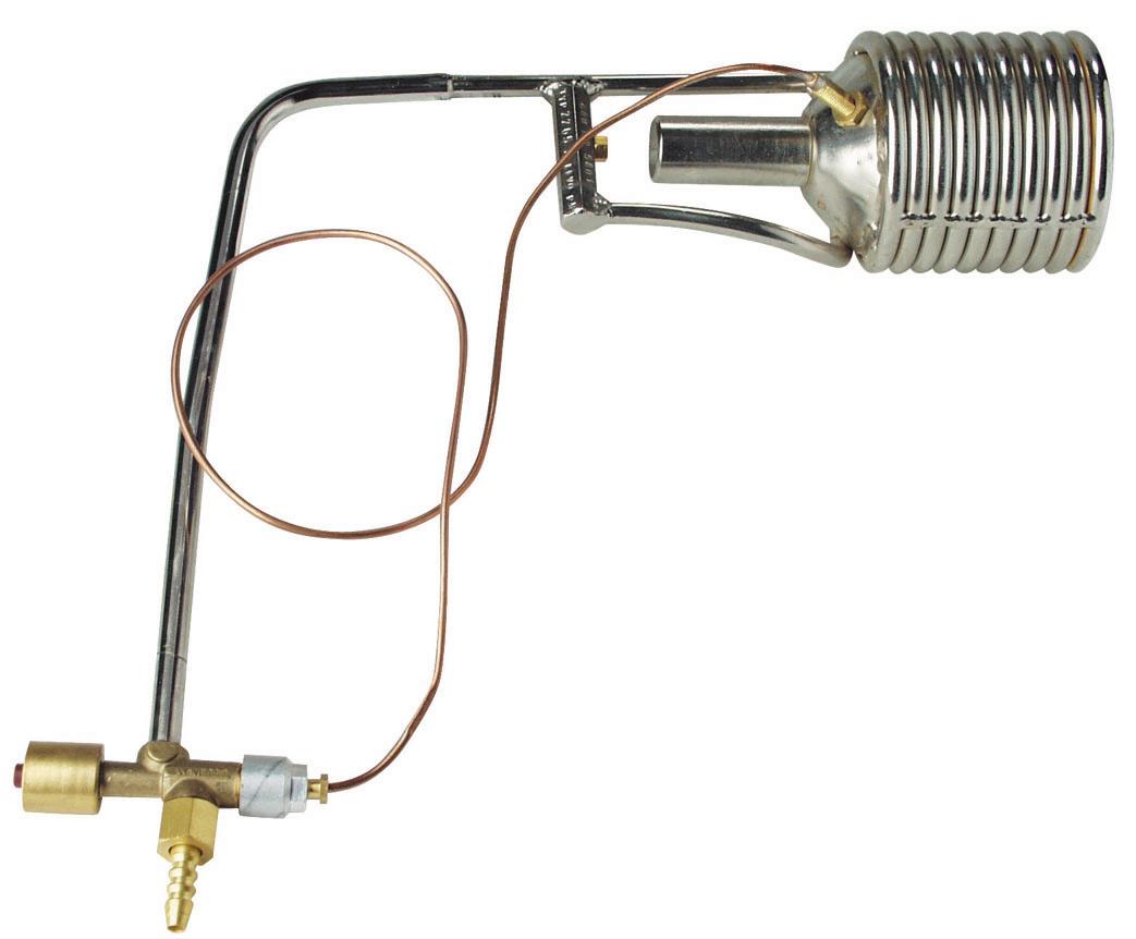 MEVA Plynový spirálový hořák 50 kW PB s termopojistkou 2265A