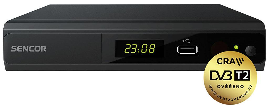 SENCOR SDB 5104TD DUAL-TUNER/H.265 DVB-T přijímač 35051882