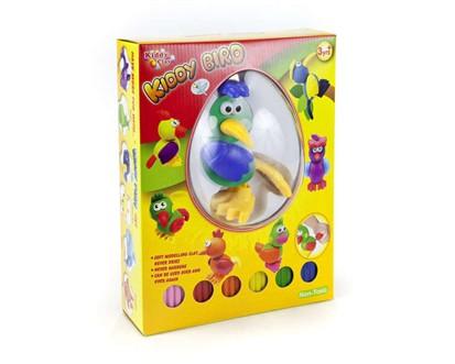 VETRO-PLUS Modelína - kreativní sada - ptáček 6 barev 38NAR006