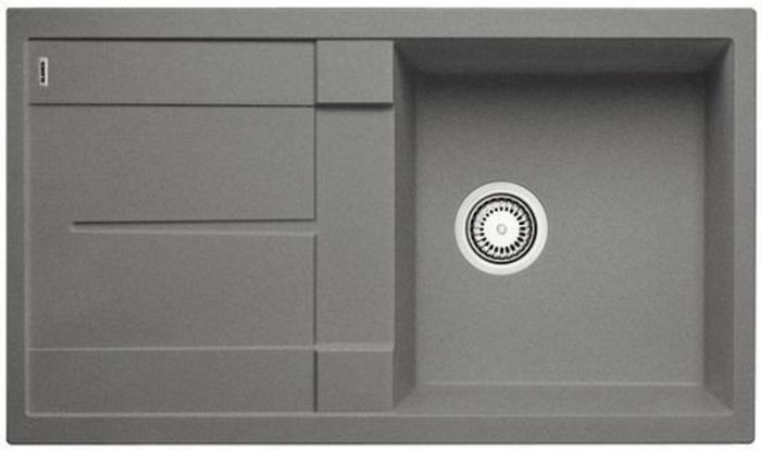 BLANCO Metra 5 S dřez Silgranit, bez excentru, aluminium 513204