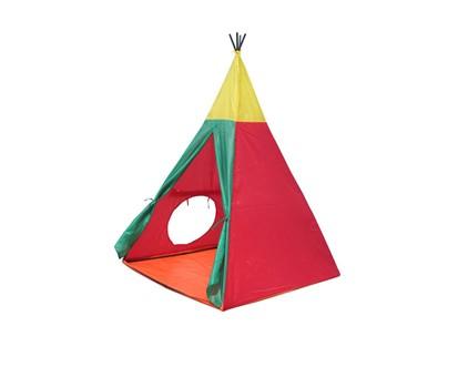 JOY PARK Dětský stan Indian I červeno-žluto-zelený 51INDIAN8703