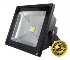 LED reflektor SMD 30W černý, 1xCOB LED WM-30W-E