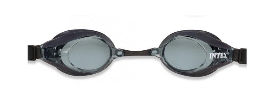 INTEX SPORT RACING Sportovní plavecké brýle, černé 55691