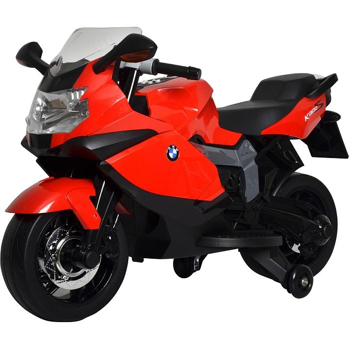 BUDDY TOYS BEC 6010 Elektrická motorka BMW černo-červená 57000402