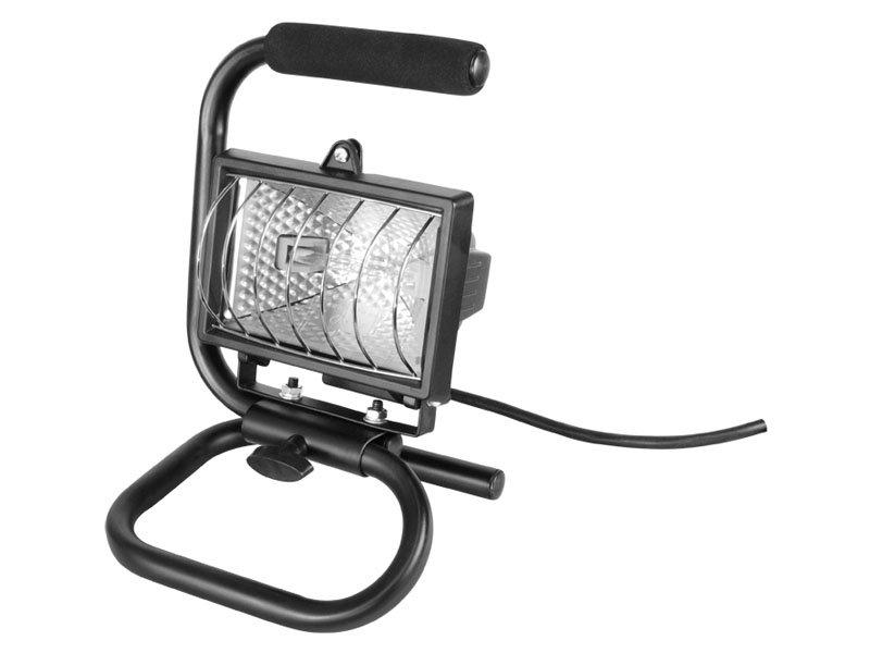 EXTOL CRAFT světlo halogenové přenosné s podstavcem, 150W 82788