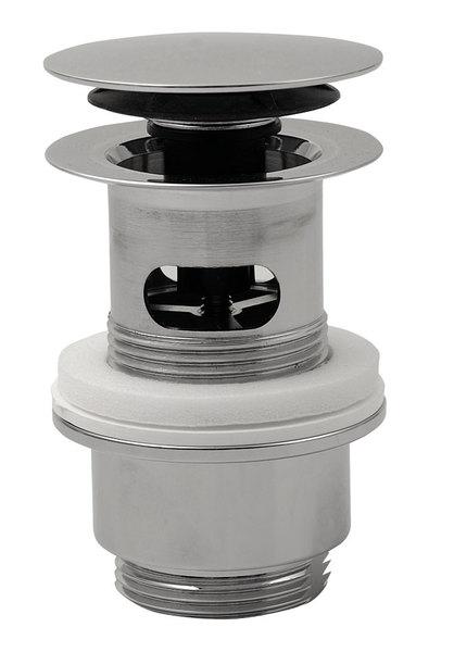 SILFRA uzavíratelná kulatá výpusť pro umyvadla s přepadem kliklak, V 32-52mm, c 8530.360.5