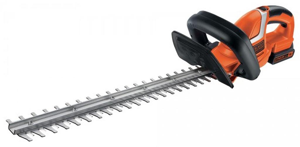 BLACK & DECKER Aku nůžky na živý plot 18V/2,0Ah - 45 cm GTC1845L20