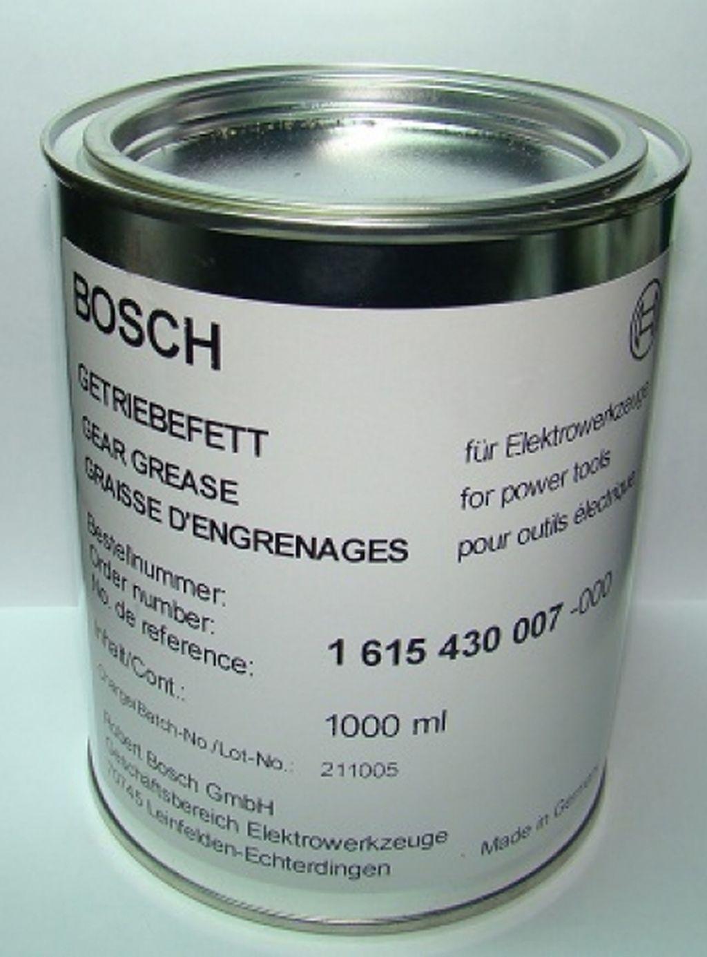 BOSCH mazací tuk pro nástroje, 1000 ml 1615430007