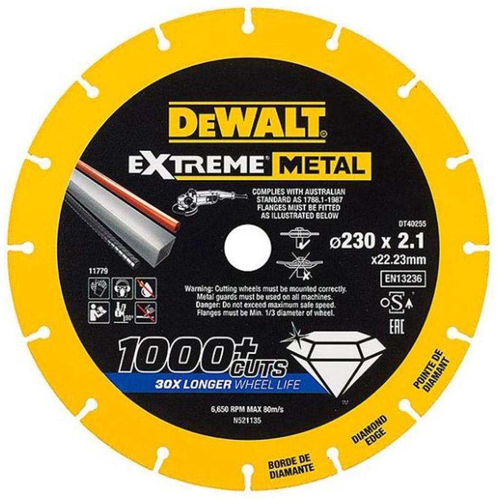 DeWALT Diamantový kotouč EXTREME METAL, 150 mm DT40253
