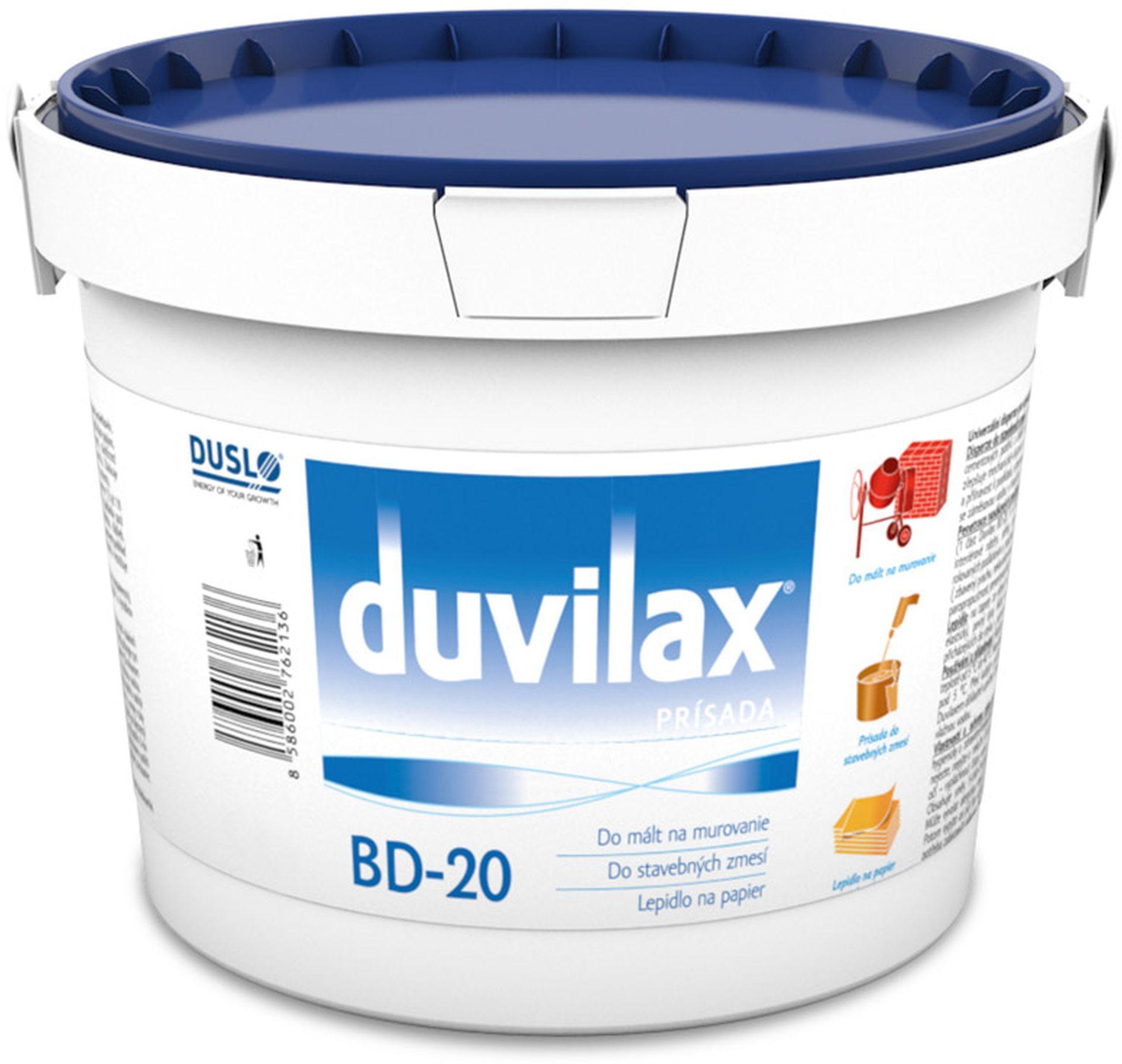 DUVILAX BD -20 přísada do malt a betonů, penetrace 1 kg