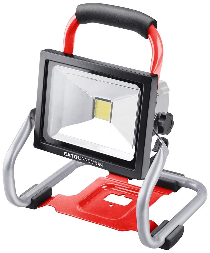 EXTOL PREMIUM reflektor LED aku SHARE20V, 1800lm, 20V Li-ion, bez baterie a nabíječky 8891871