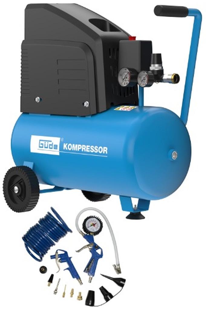 GÜDE 220/8/24 Kompresor, 13dílná sada 50128