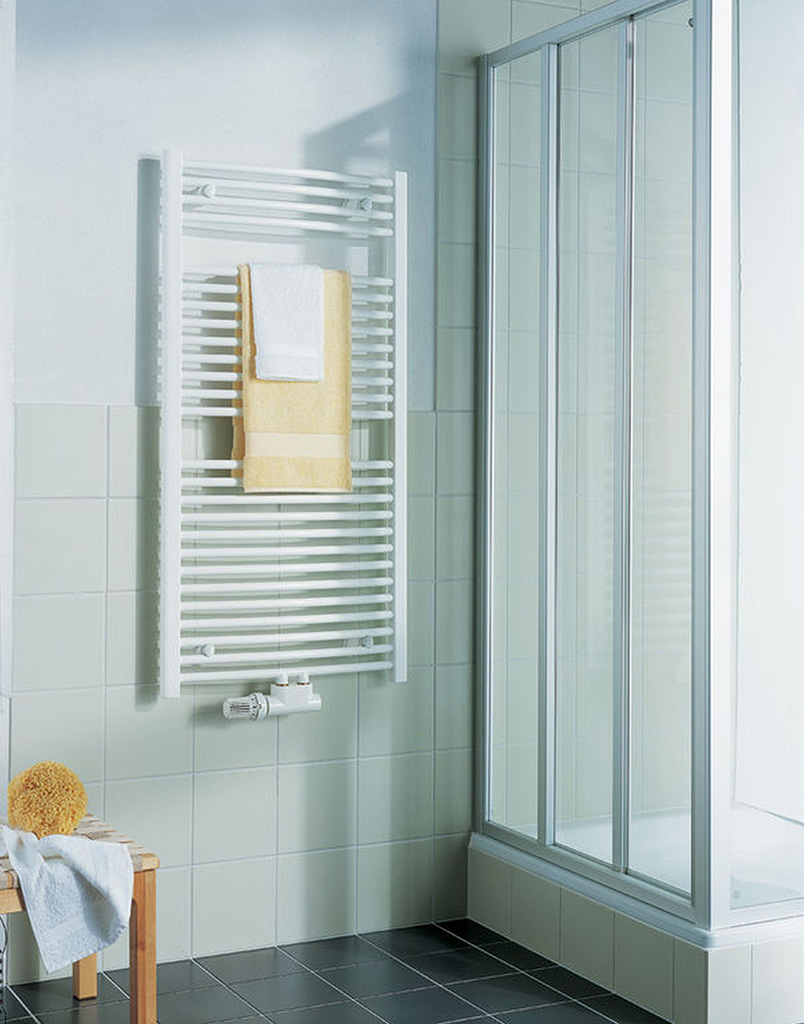 Kermi B20-R M koupelnový radiátor 1789 x 890 mm, zaoblený, bílá LR01M1800902XXK