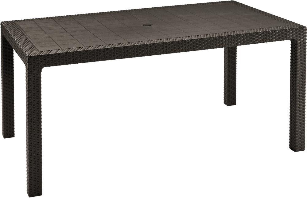 KETER MELODY stůl 161 x 95 x 75cm, hnědá 17190205