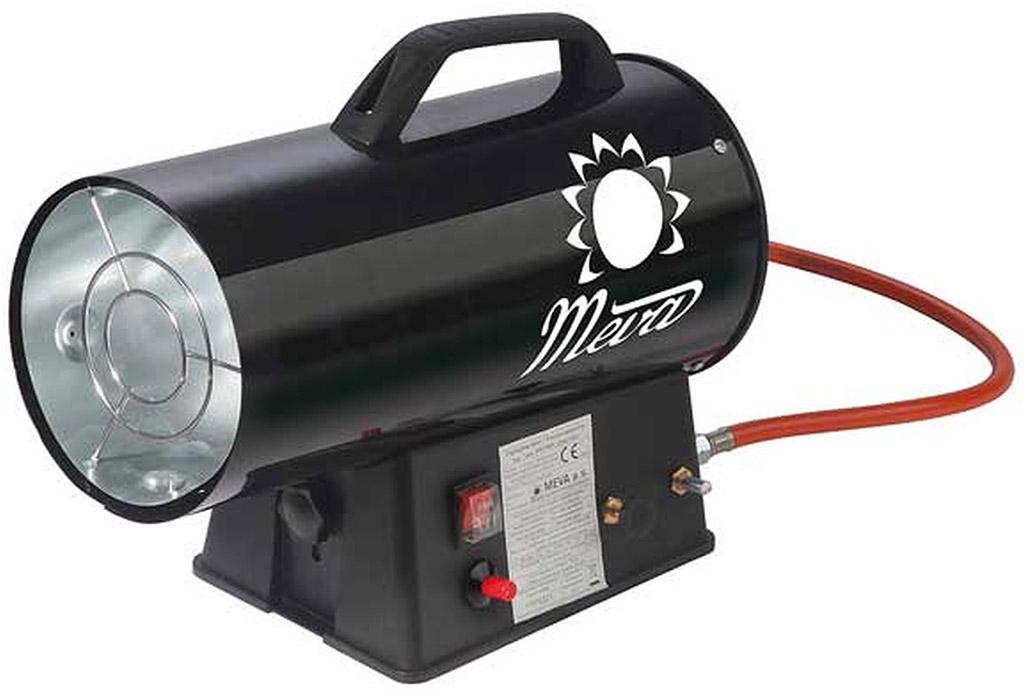 MEVA Teplogenerátor 5-10 kW s regulátorem a hadicí TP17001