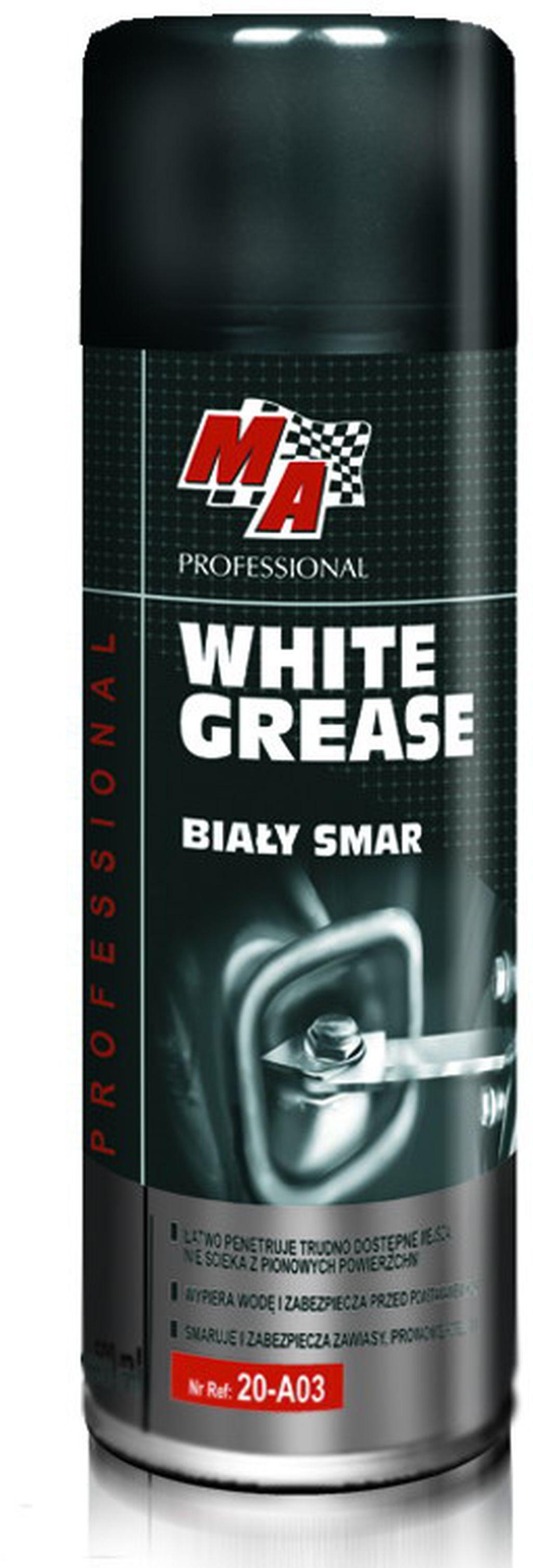 Moje Auto White Grease - Tekuté mazivo s vysokou penetrací 400 ml