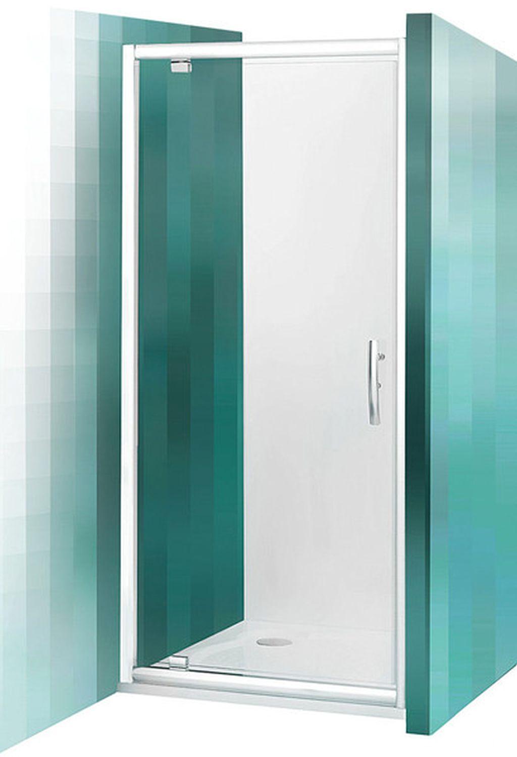 ROLTECHNIK Sprchové dveře jednokřídlé PXDO1N/800 brillant/transparent 525-8000000-00-02