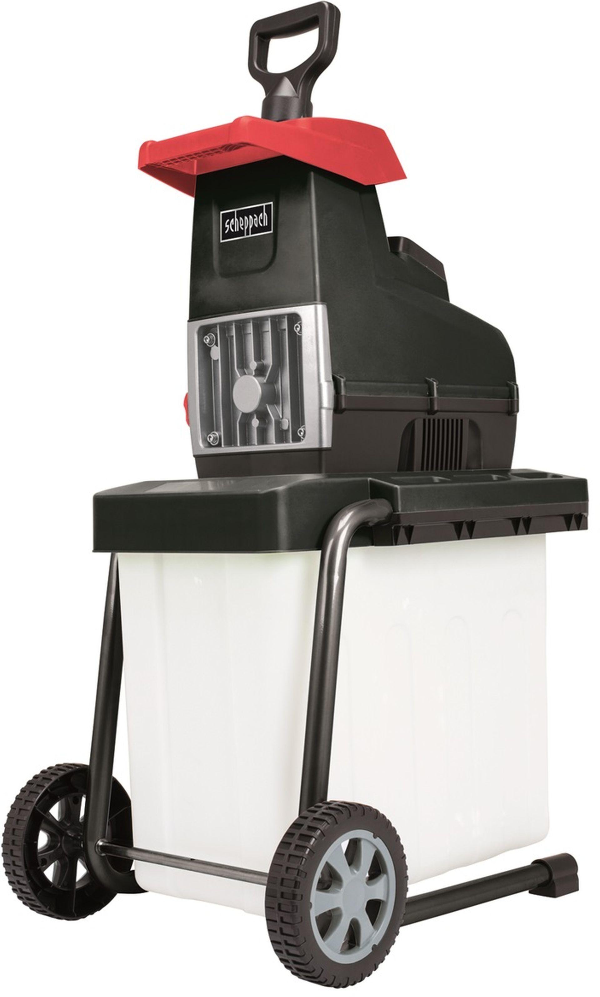 SCHEPPACH GS 60 - elektrický válcový drtič 2800 W s transparentním boxem 5904403901
