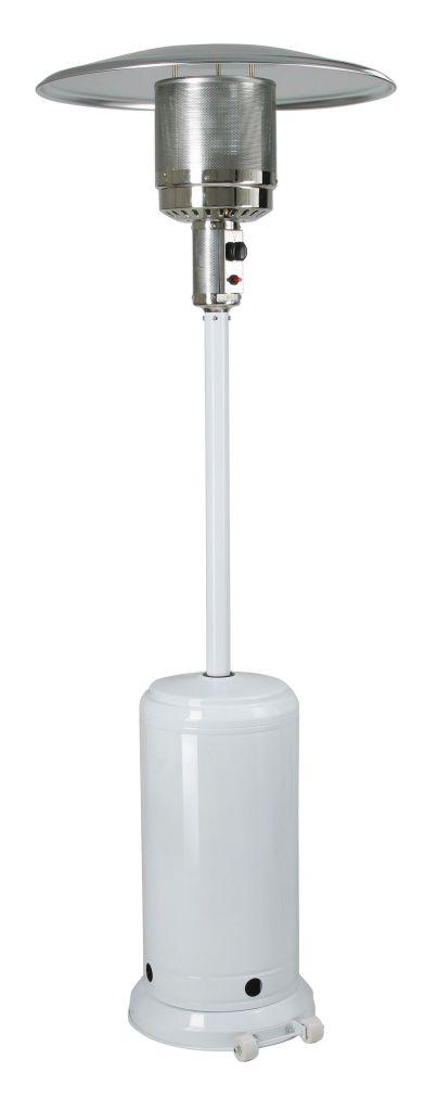 MEVA ETNA zahradní topidlo s kolečky pro snadné přemisťování, bílá TZ02001