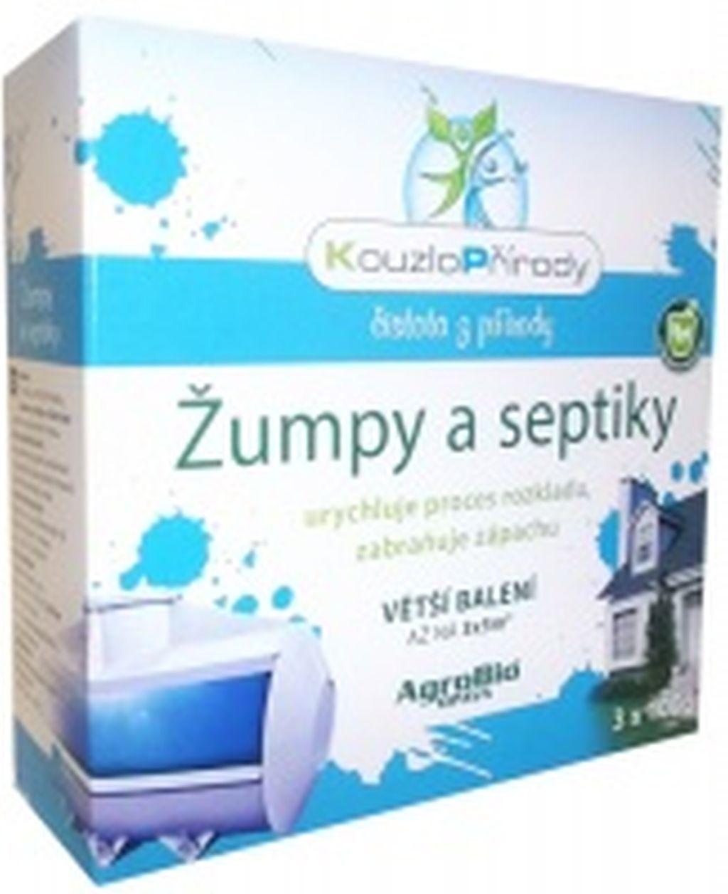 AgroBio KP Žumpy a septiky 3x100 g