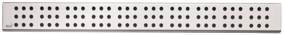 ALCAPLAST CUBE Rošt pro liniový podlahový žlab 650mm, nerez lesk CUBE-650L