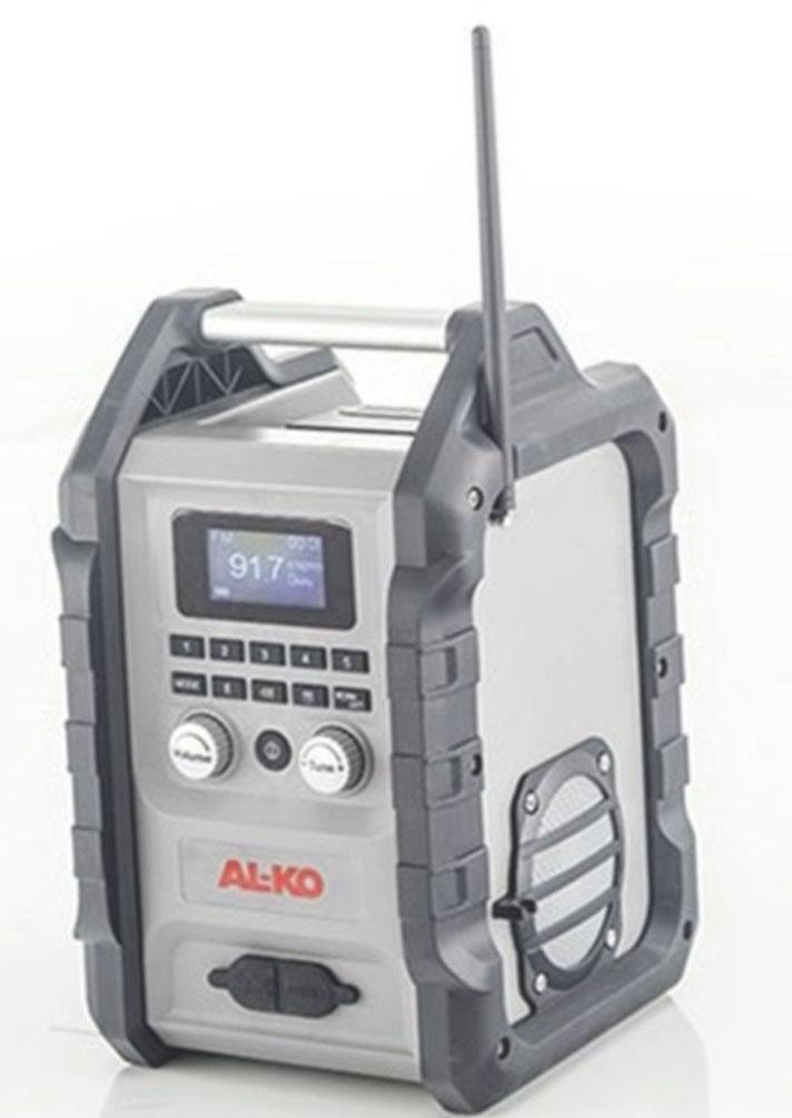 AL-KO WR 2000 Akumulátorové stavební rádio (bez akumulátoru a nabíječky) 113631