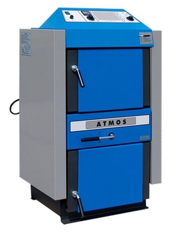 Atmos AC 25 S kotel na hnědouhelné brikety