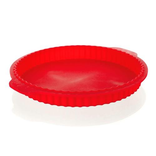 BANQUET Silikonová forma na koláč o27x3,5cm Culinaria red 3120040R