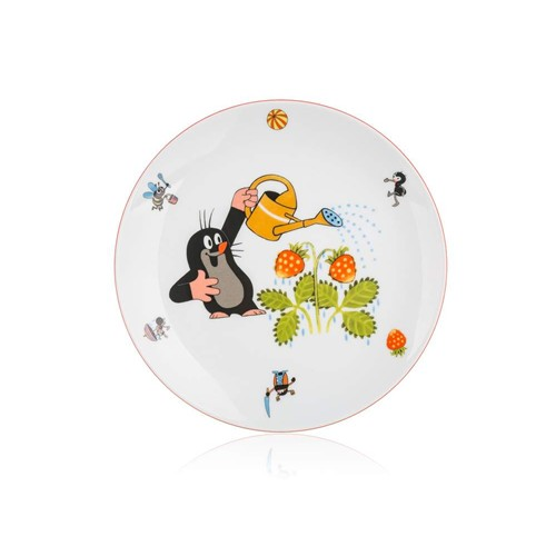 BANQUET Talíř dětský mělký KRTEK 21 cm, assort 60301024