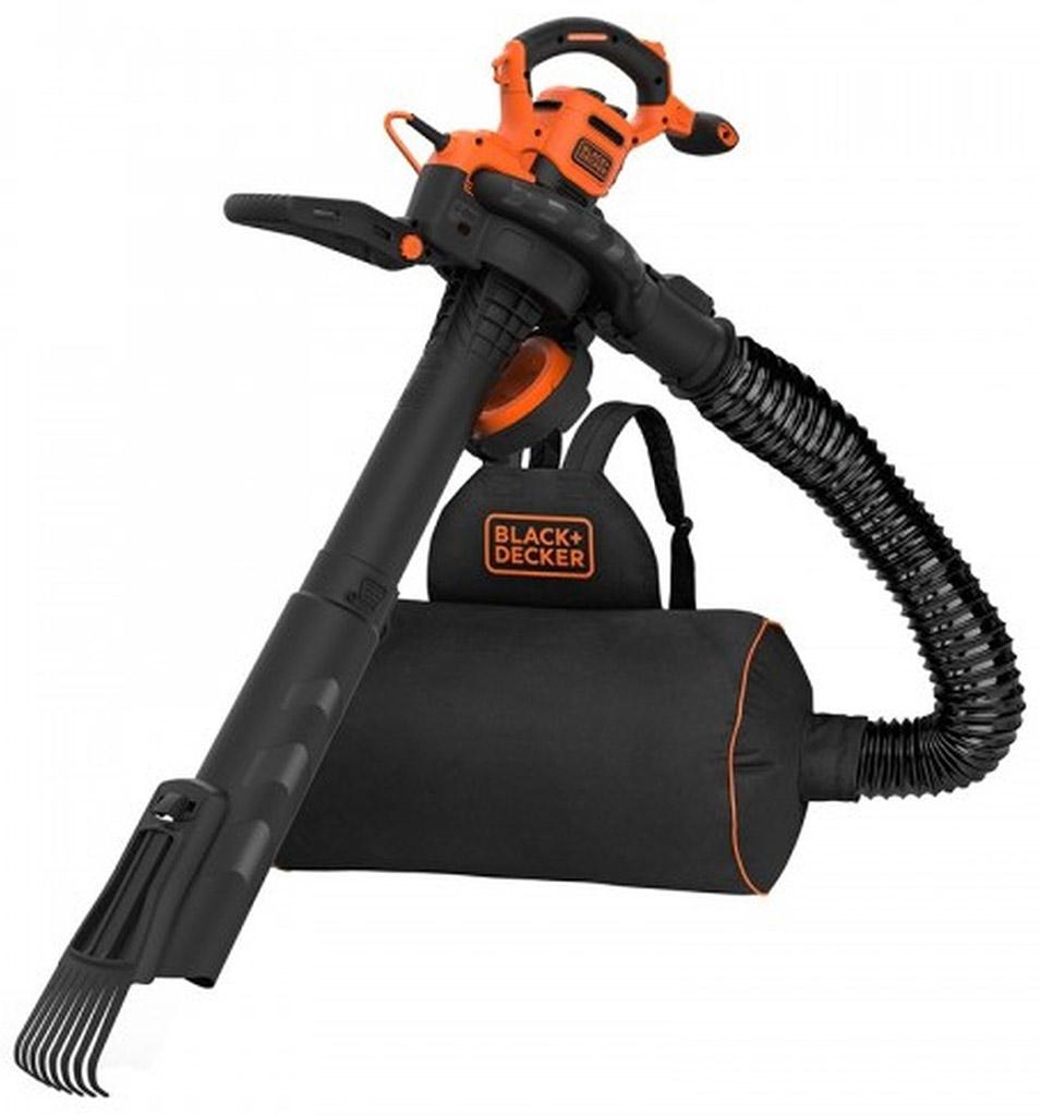 BLACK & DECKER Elektrický vysavač listí 3v1, 3000 W BEBLV301-QS