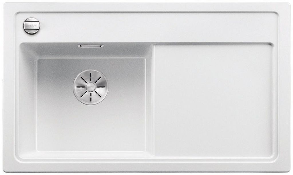 BLANCO ZENAR 45 S-F InFino Silgranit bílá dřez vlevo s exc. a dřev.deskou 523828