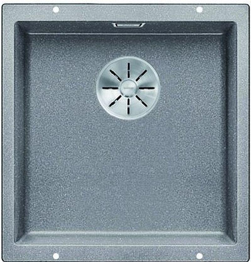 BLANCO Subline 400 U InFino dřez Silgranit aluminium, bez táhla 523424