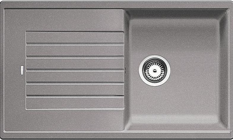 BLANCO ZIA 5 S dřez Silgranit 860x500 mm, aluminium 520513
