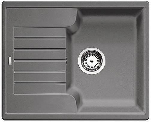 BLANCO Zia 40 S Silgranit dřez, aluminium 516919