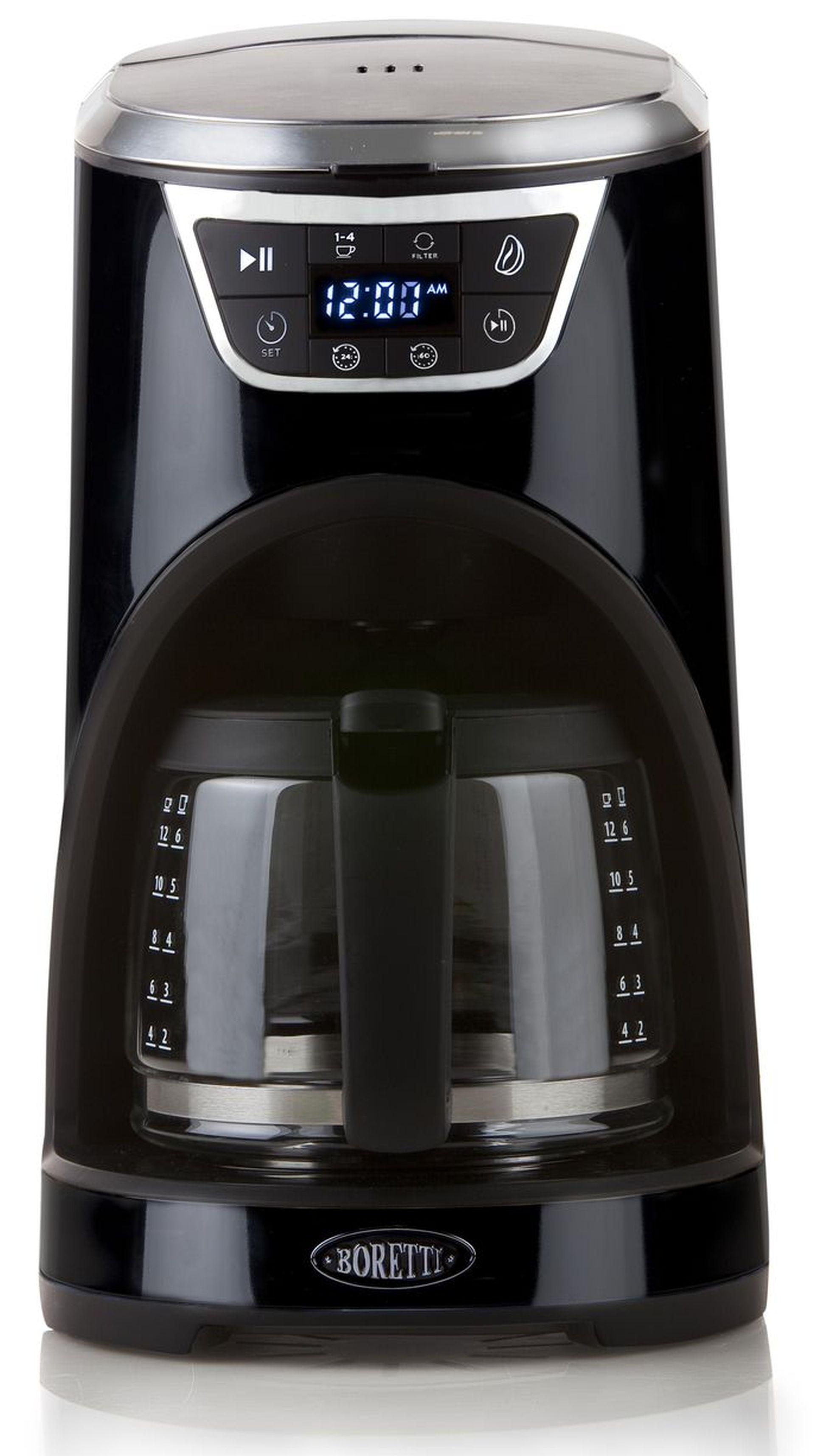 Boretti Kávovar s časovačem 1000 W, černý B410