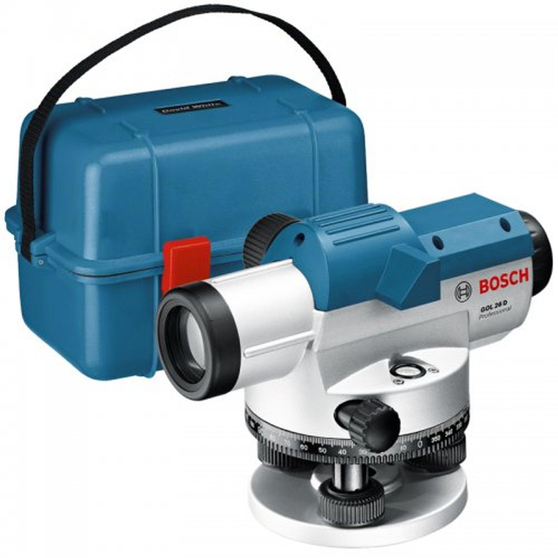 BOSCH GOL 26 D optický nivelační přístroj 0601068000