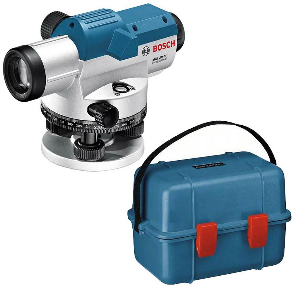BOSCH GOL 20 G optický nivelační přístroj 0601068401