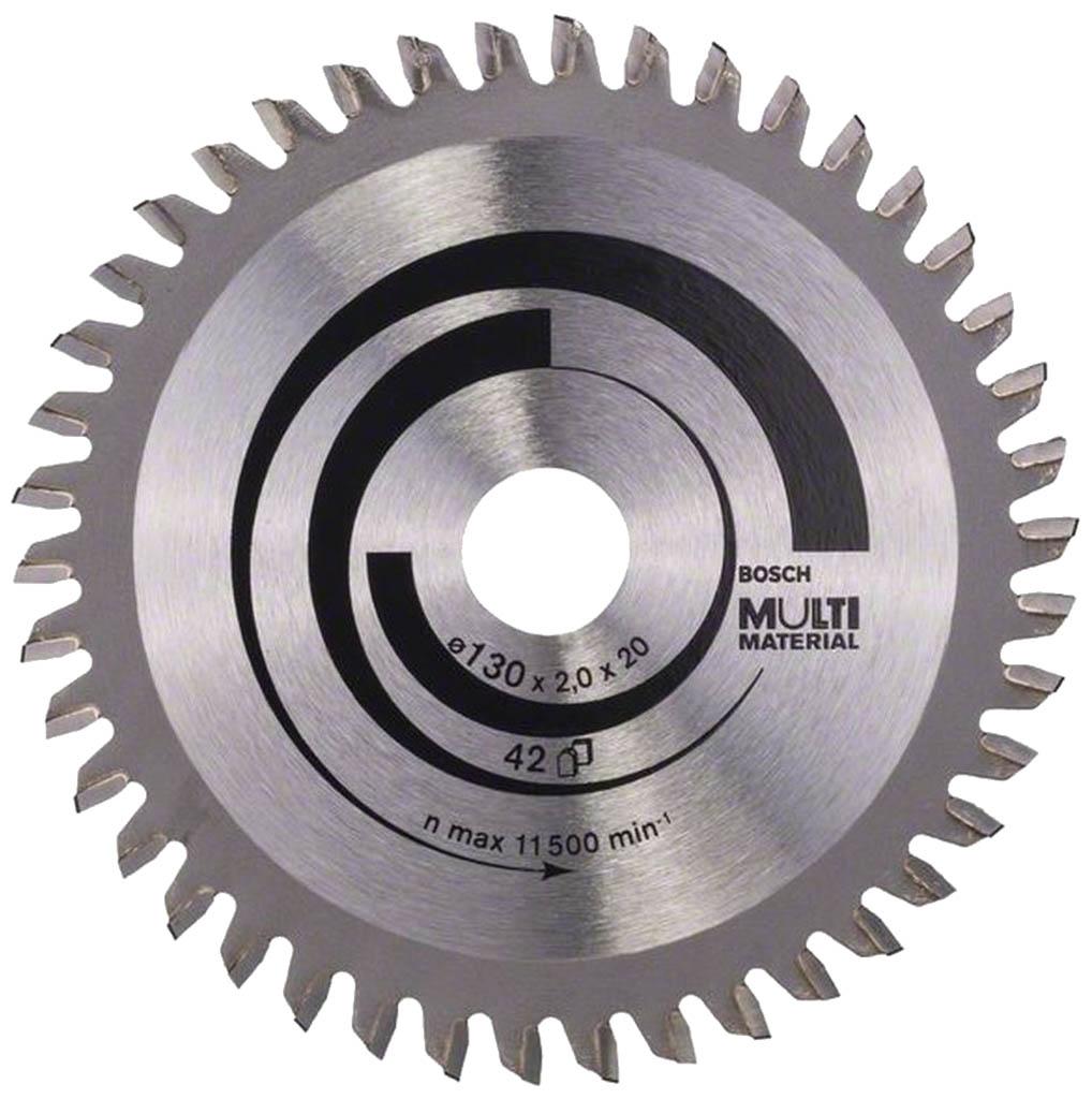 BOSCH Pilový kotouč Multi Material, 130x2,0/1,4 mm 2608641195