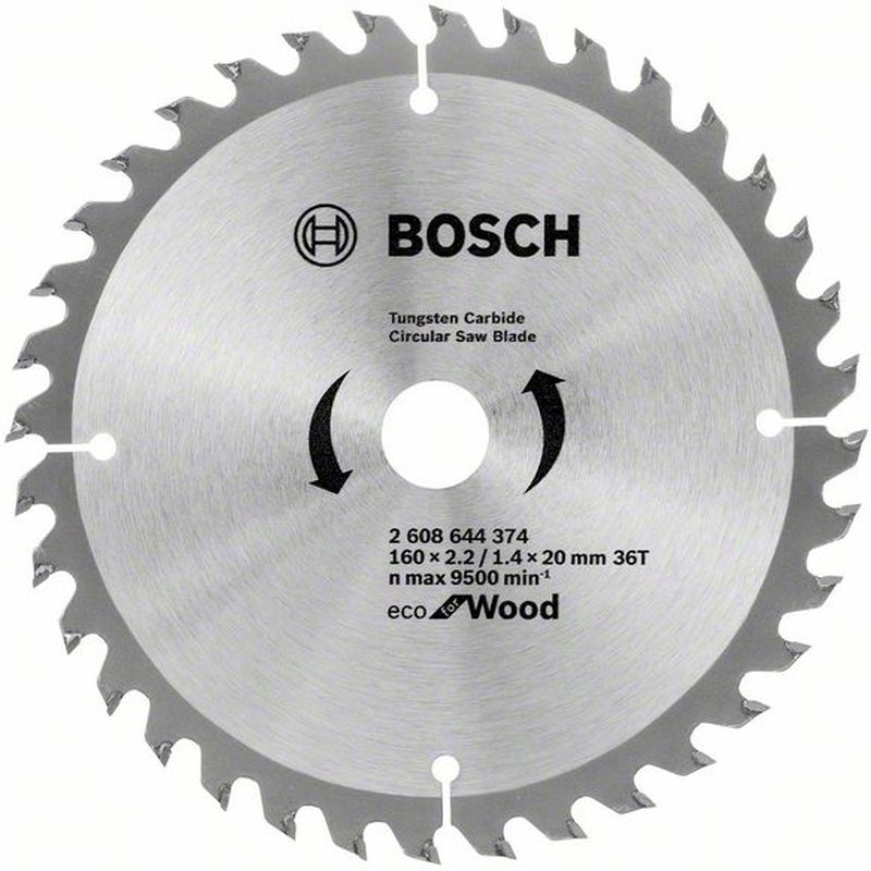 BOSCH Pilový kotouč Eco for Wood, 160x1,4 mm 2608644374