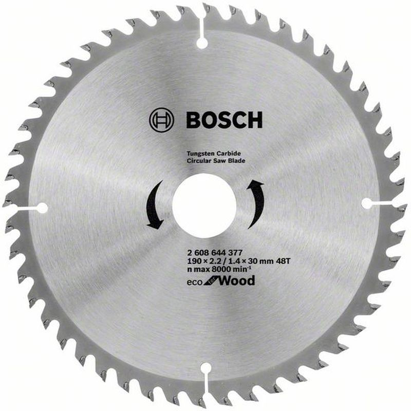 BOSCH Pilový kotouč Eco for Wood, 190x1,4 mm 2608644377