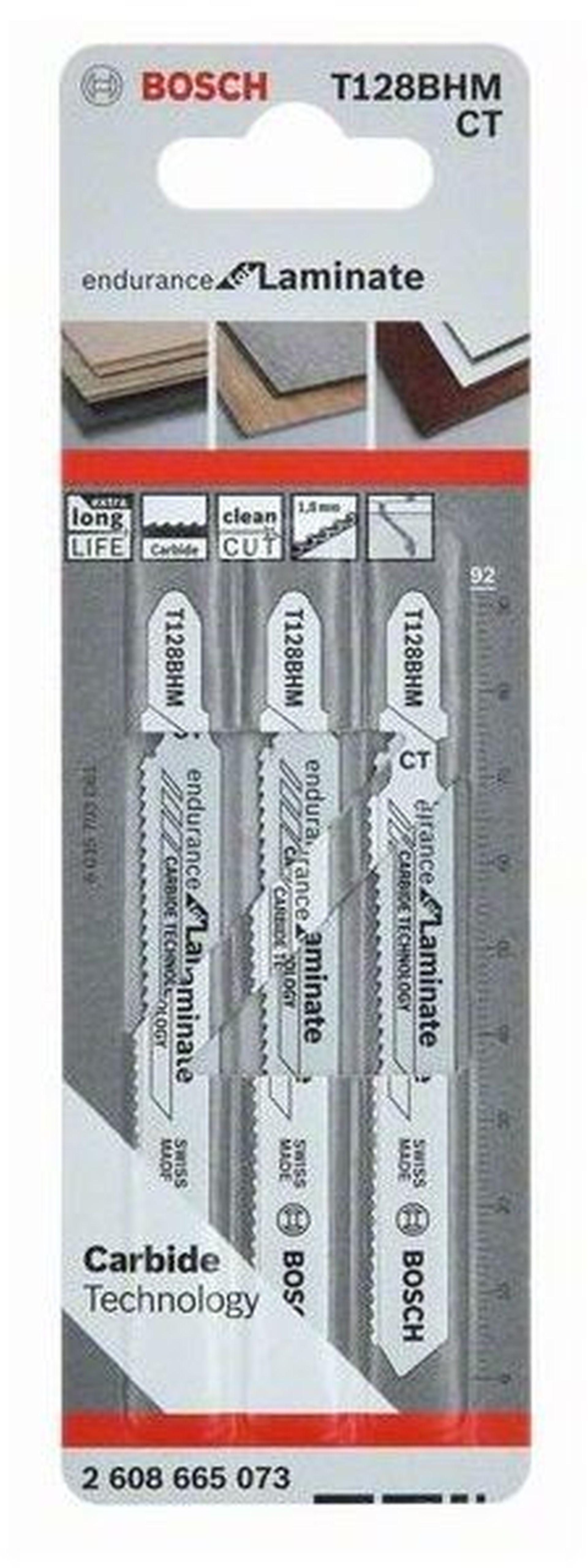 BOSCH Pilový plátek T 128 BHM, 92 mm, 3ks 2608665073