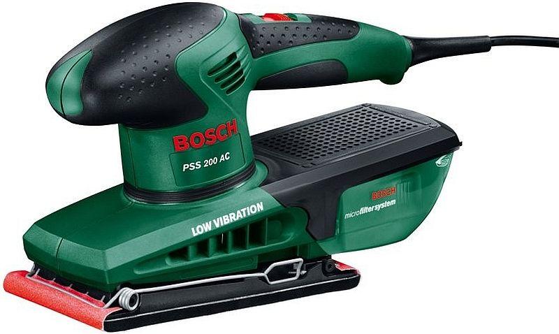 BOSCH PSS 200 AC vibrační bruska 0603340120