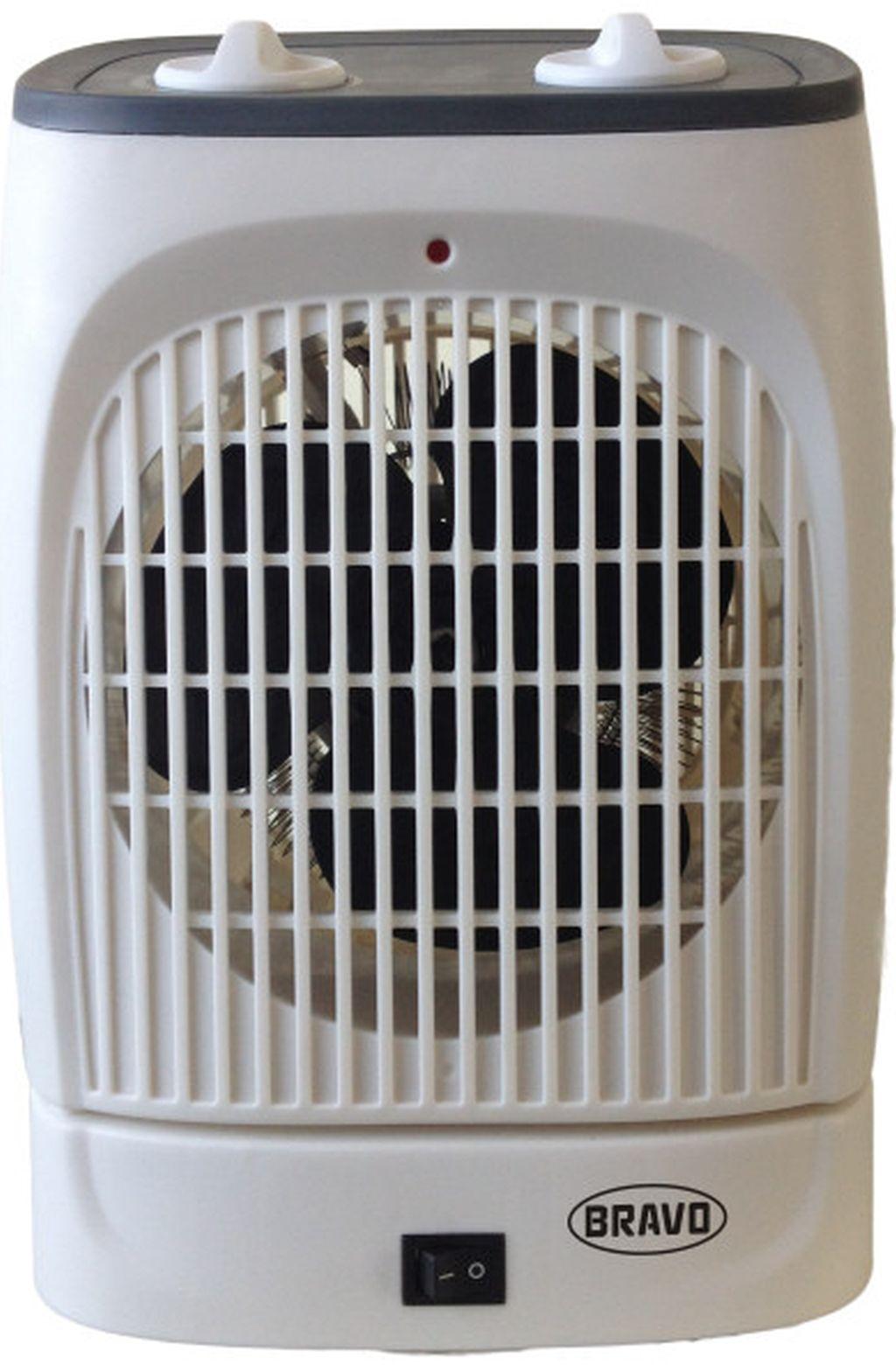 BRAVO B-4623 teplovzdušný ventilátor s oscilací šedý 19663000