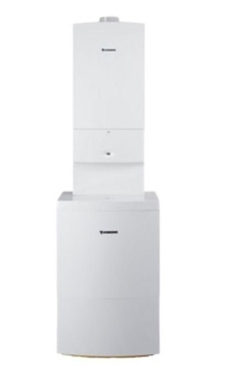 JUNKERS ZSB 22-3 CE + ST 120-2E CerapurSmart sestava kondenzačního kotle a zásobníku