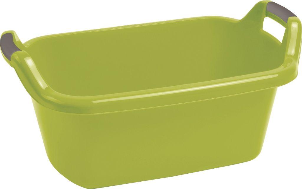 CURVER vanička oválná s uchy 55 l zelená 03316-704
